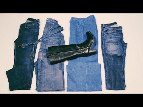Jeans und Stiefel – rein oder raus?