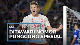 Manchester United Dikatakan Tawarkan Nomor Punggung Spesial untuk Matthijs de Ligt