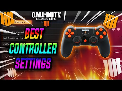 BO4 BEST SETTINGS PS4/XBOX ONE CONTROLLER | BEST BLACK OPS 4