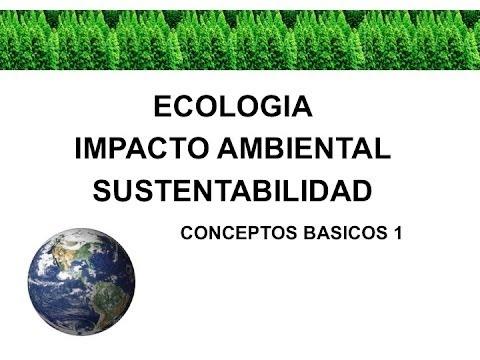 Conceptos Básicos Ecología y Medio Ambiente