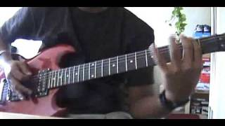 Arch Enemy - I am legend/Out for blood (guitar cover)