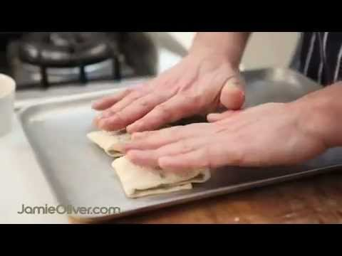 How To – make filo pastry, from 'Jamie Does…'
