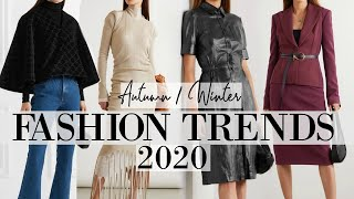 These are the clothes we'll be wearing this Autumn & Fall   Fall Autumn 2020 Fashion Trends