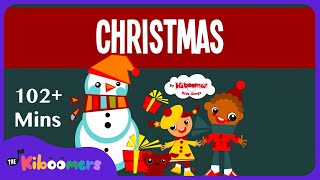 Jingle Bells | 2 Hour Christmas Songs for Kids | Christmas Carol | The Kiboomers