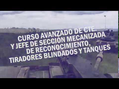 Curso Avanzado de Cte. y Jefe de Sección Mecanizada de Reconocimiento, Tiradores Blindados y Tanques