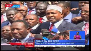 KTN Prime: Aden Duale is on the spot after an alleged recording of him with tribal sentiments
