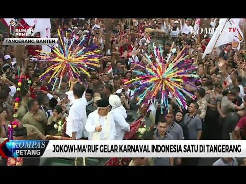Jokowi-Ma'ruf Gelar Karnaval Indonesia Satu di Tangerang