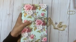 Starting a Junk Journal for beginners. So easy!   | Part 1