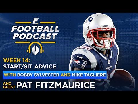 Fantasy Football Start/Sit: Week 14 with Pat Fitzmaurice (Ep. 445)