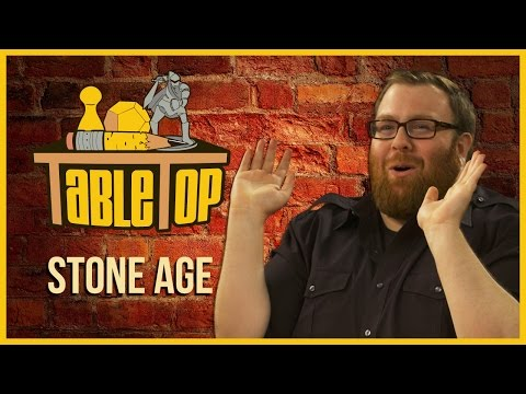 cuerda sufrir calcetines  darkened-soulz: Stone Age: Nika Harper, Jesse Cox, and Jordan Maron join  Wil Wheaton on TableTop S03E05