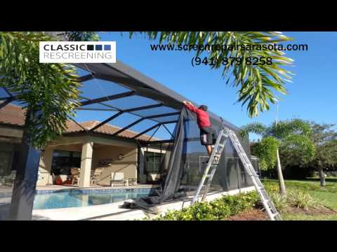 Pool Enclosure Repair Services Screen Amp Rescreen