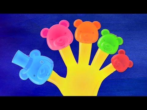 Familia dedo en español para niños y bebés