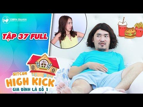 Hình ảnh Youtube -  Gia đình là số 1 sitcom | tập 37 full: Tiến Luật không dám ăn vì sợ Thu Trang giận dỗi