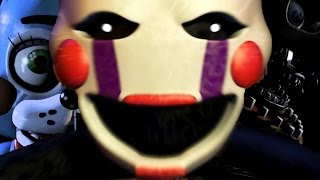 Five Nights At Freddy's 2 DEMO GAMEPLAY! Night 1   THE MARIONETTE Part 1