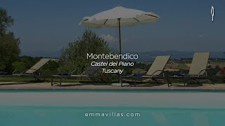 preview picture of video 'Emma Villas Montebendico (Tuscany - Castel del Piano - Grosseto)'