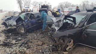 Страшное ДТП под Гусевом: Столкнулись «Мерседес« и «БМВ». Погибли два человека