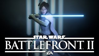 Star Wars Battlefront II - Jedi Leia Gameplay