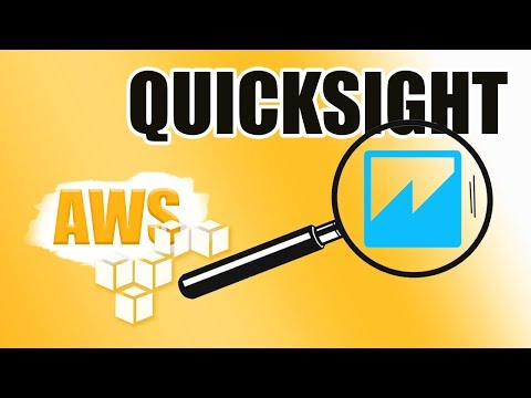 Amazon (AWS) QuickSight – What's that?