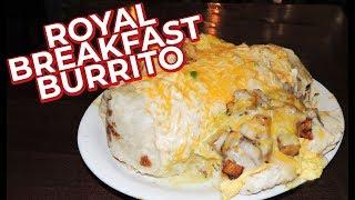 KC Royal Breakfast Burrito Challenge!! (UNDEFEATED)