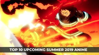 Top 10 Most Anticipated Summer 2019 Anime