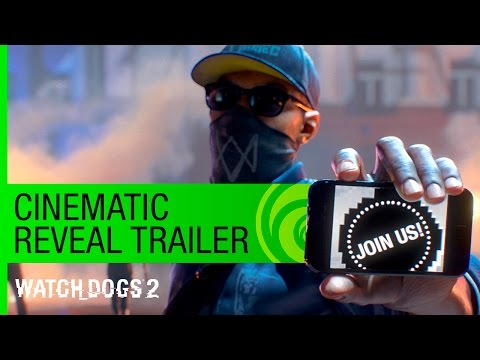 Watch Dogs 2 Trailer: Cinematic Reveal - E3 2016 [US] thumbnail