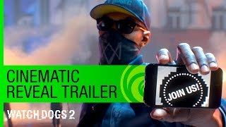 Watch Dogs 2 Trailer Cinematic Reveal  E3 2016 US