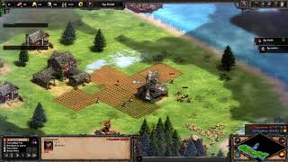 Age of Empires II FPV 01.09.2020 - Goths proxy 2 rax (SC2 STYLE)