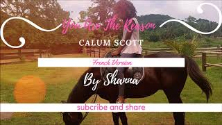 Calum Scott  You Are The Reason  ( French Version ) By Shanna