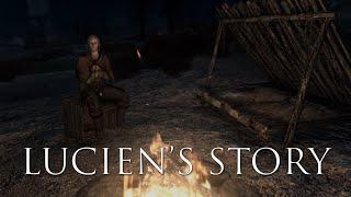 A Spooky Skyrim Campfire Story With Lucien Flavius - Original Skyrim Short Story - Mod Showcase