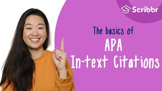 The Basics of APA In-text Citations | Scribbr 🎓