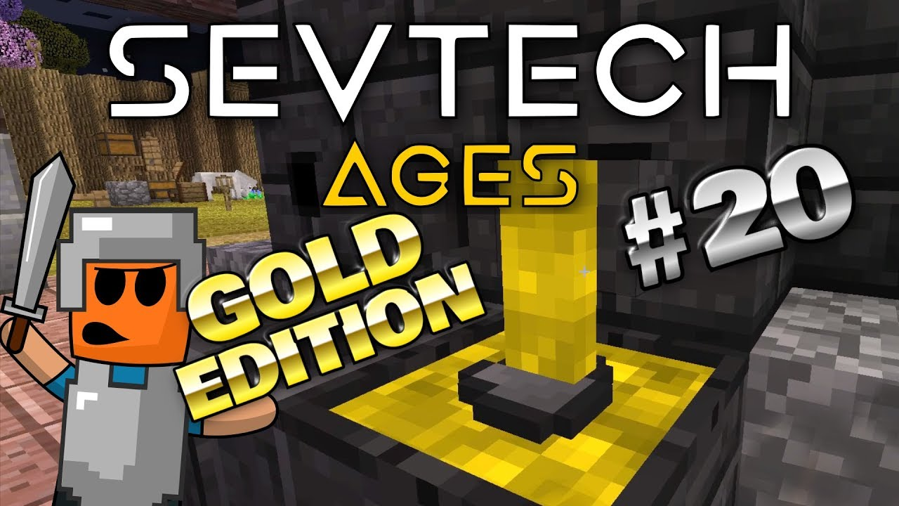 Minecraft - Iron and Gold - SevTech Ages #20
