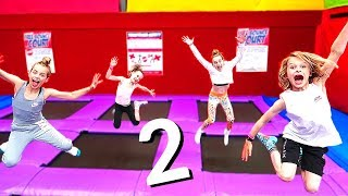 TRAMPOLINE PARK GAMES Challenge 2 By The Norris Nuts
