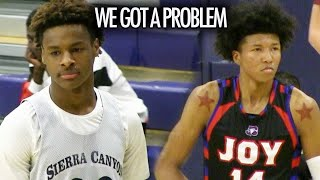 Bronny James Sierra Canyon Squads PERFECT STREAK Is Put To The Test