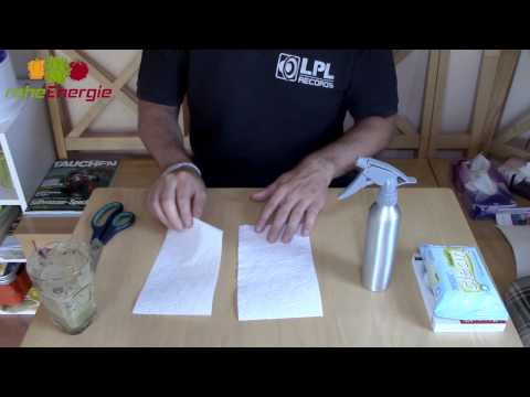 Feuchtes Toilettenpapier ohne Chemie (Do It Yourself) [VEGAN]