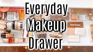 Everyday Makeup Drawer Summer 2020