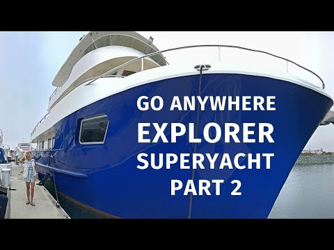 $8,900,000 ALLSEAS 92 EXPEDITION Explorer SuperYacht Tour Liveaboard AROUND THE WORLD Yacht PART II