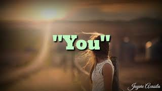 You by Basil Valdez | Lyrics