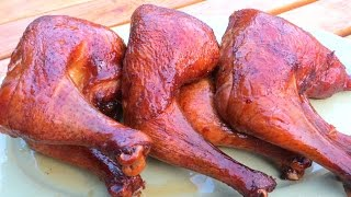 Gambar cover How to make Smoked BBQ Chicken - The Wolfe Pit