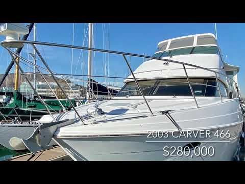 Carver 466 Motor Yacht video