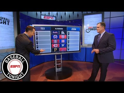 , title : 'Predicting the National League playoff teams | Baseball Tonight | ESPN'