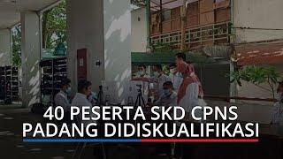 Sekitar 40 Peserta SKD CPNS Padang Didiskualifikasi, Tak Hadir Diduga karena Positif Covid-19