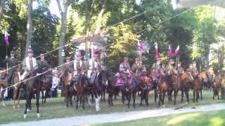 preview picture of video 'V Pielgrzymka Konna w Hołdzie Kawalerii RP - Kodeń'