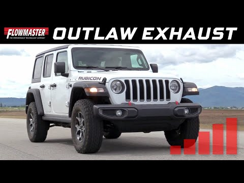 2018-19 Jeep Wrangler JL 3.6L 4-door - Outlaw Cat-back Exhaust System 817818