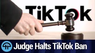 US Judge Puts Stay on Tiktok Ban