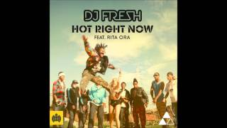 DJ Fresh ft. Rita Ora - Hot Right Now (Kamuki Remix) (Out Now)