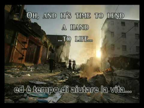 We Are The World - 25 For Haiti + english & italian lyrics