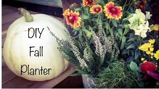 Fall Planter Tutorial