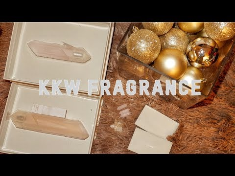 KKW FRAGRANCE: UNBOXING & FIRST IMPRESSION | Crystal Gardenia Citrus | Crystal Gardenia Oud