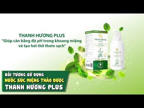 Đối tượng sử dụng nước súc miệng 100% thảo dược Thanh Hương Plus