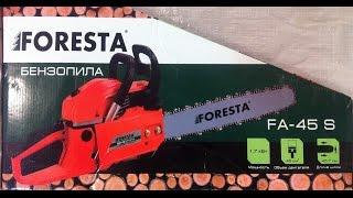 Бензопила FORESTA FA-45S от компании Дом Быта - торговая компания - видео